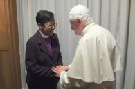 World Methodist Council Vice-President Sarah Davis attends Synod in Rome