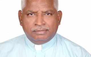 Methodst Church in India Reverend touring U.S. for Disaster Relief.