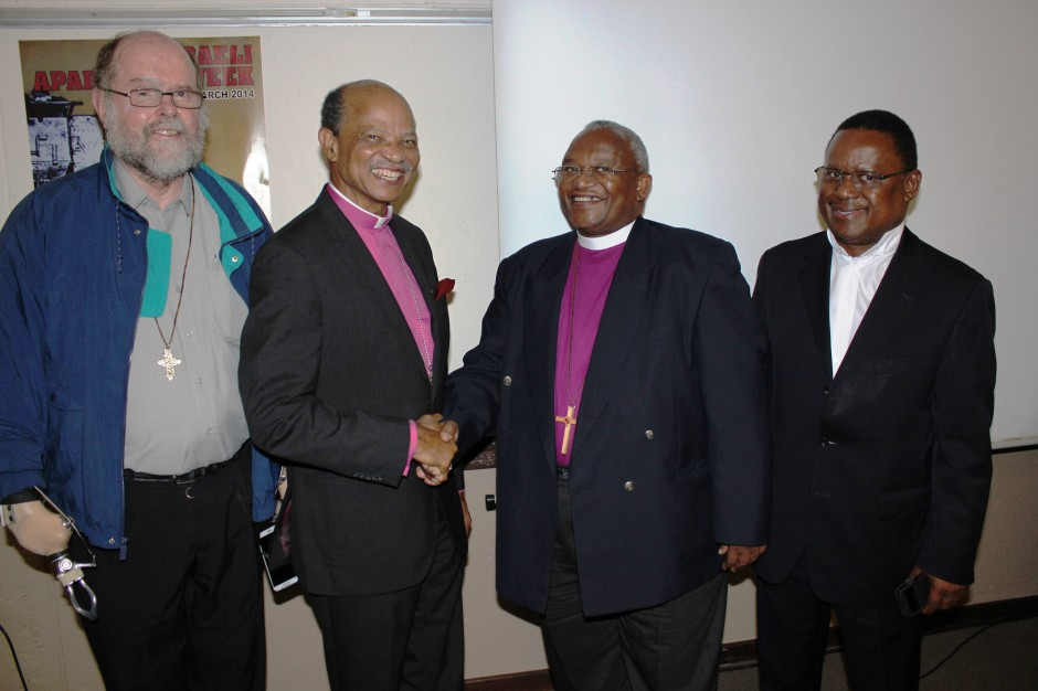 Presiding Bishop Zipho Siwa, newly elected President of the South African Council of Churches....