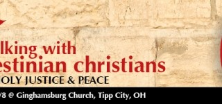Walking with Palestinian Christians conference Announced