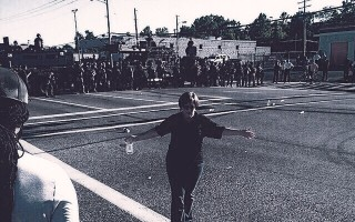 General Secretary reaches out to Ferguson, Missouri Peacekeeper