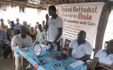 Taking Ebola Help to Remote villages