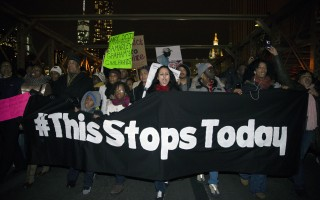 Protests Erupt after Grand Jury Decisions in Ferguson, Staten Island