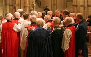 Methodists Help Make an Anglican Bishop
