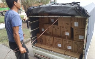 Nazarenes, Stop Hunger Now Distribute Meals in Nepal
