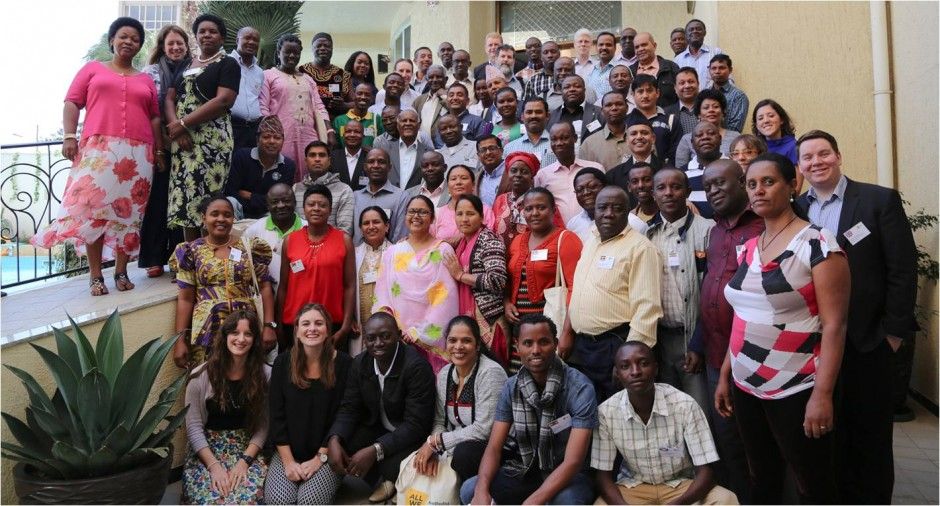 All We Can partners from nine countries around the world met together in Addis Ababa, Ethiopia. Photo courtesy of All We Can.