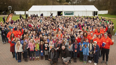 2015 3Generate Participants. Photo courtesy of the Methodist Church in Britain.