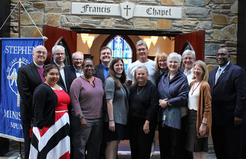 Episcopal-UMC Dialogue Participants. Charlotte, NC. 24-27 April 2016