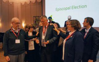 Christian Alsted re-elected United Methodist bishop