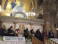 Historic Ecumenical Prayer Service Held in Egypt