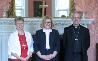 President, Vice-President of British Methodist Conference Meet Archbishop of Canterbury