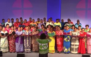 UK Fijian Methodist Fellowship Choir Sings at British Methodist Conference