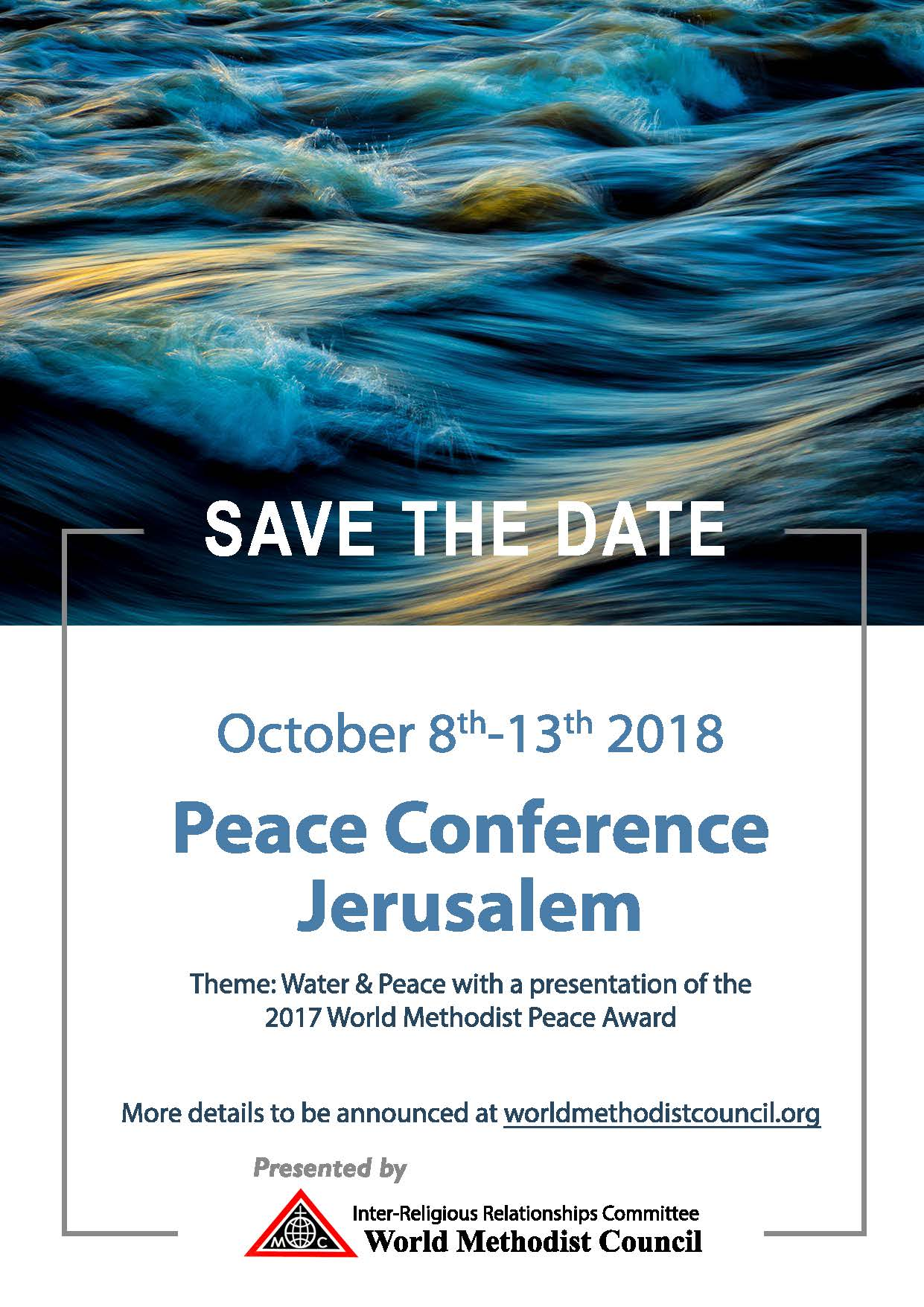 wmc peace conference jerusalem save the date first friday letter