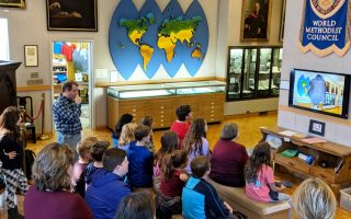 World Methodist Museum Welcomed Domestic and International Visitors in 2017