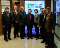 WMC Officers Visit Korea, Prepare for 2018 Council Meeting