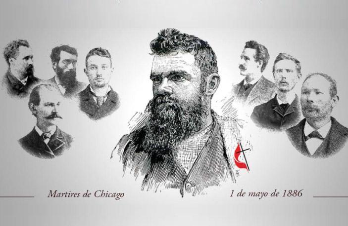 Samuel Fielden, pastor metodista fue uno de los protagonistas de los sucesos que llevaron a establecer el 1º de mayo como el Día Internacional del Trabajador.